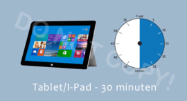 Tablet/I-Pad 30 J/TV