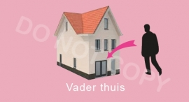 Vader thuis - T-M/TV