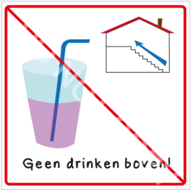 Geen drinken boven! (HR)