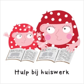 Hulp bij huiswerk Mia (H)