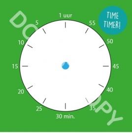Klok / Tijdsduur / TIMETIMER! (S&H)