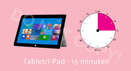 Tablet/I-Pad - 15 M/TV