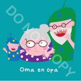 Oma en opa Mighty 2 (act.)