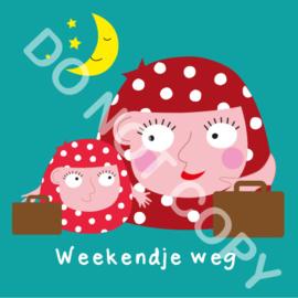 Weekendje weg Mia/Mama (act.)
