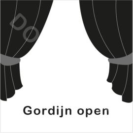 ZW/W - Gordijn open