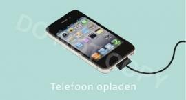 Telefoon opladen - M
