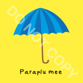 Paraplu mee (O)