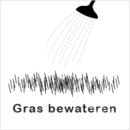 ZW/W - Gras bewateren