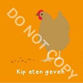 Kip eten geven (K)