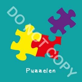 Puzzelen (act.)