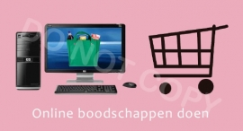 Online boodschappen doen - T-M/TV