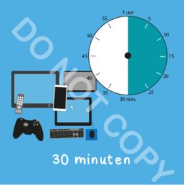 Beeldschermtijd 30 min (BT) - T