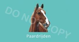 Paardrijden - M