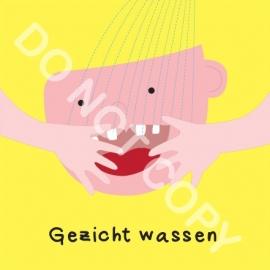 Gezicht wassen Mighty (O)