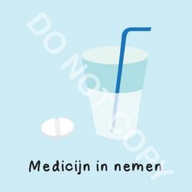 Medicijn in nemen (M)