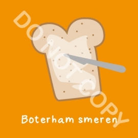 Boterham smeren (K)
