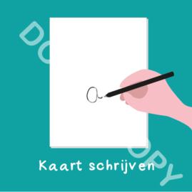 Kaart schrijven (act.)