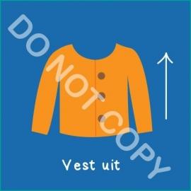 Vest uit (A)