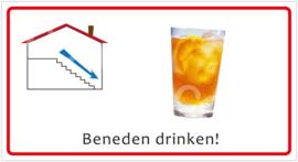 Beneden drinken! (HR) T/V