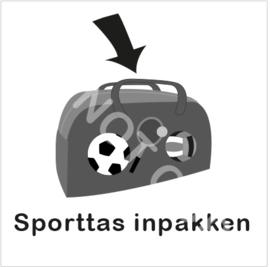 ZW/W - Sporttas inpakken