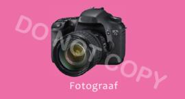 Fotograaf - M