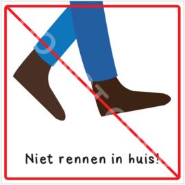Niet rennen in huis! (HR)