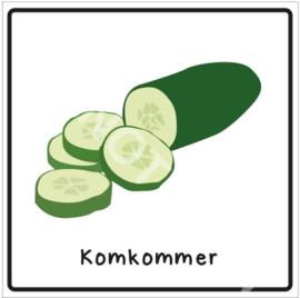 Groente - Komkommer (Eten)