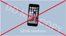 GEEN telefoon - J/TV