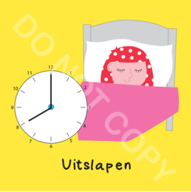 Uitslapen 8 uur Mia (O)