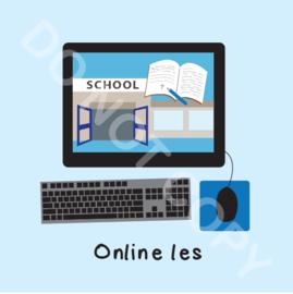 Online les (M)