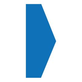 Pijl - Blauw