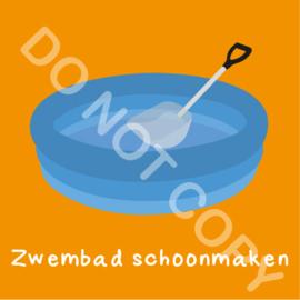 Zwembad schoonmaken (K)