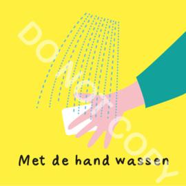Met de hand wassen (O)