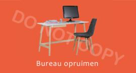 Bureau opruimen (K) T/V