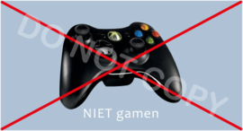 NIET gamen - J/TV