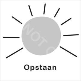 ZW/W - Opstaan