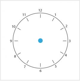 Klok / Tijd / (H)