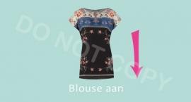 Blouse aan - M
