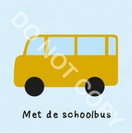 Met de schoolbus (M)