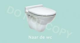 Naar de wc - M