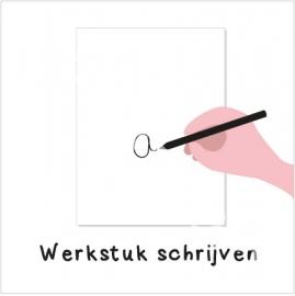 Werkstuk schrijven (H)
