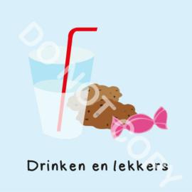 Drinken en lekkers (M)