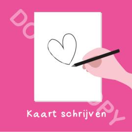 Kaart schrijven - Valentijn (F)