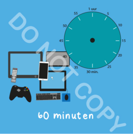 Beeldschermtijd 60 min (BT) - T