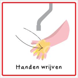 Stap 3 - Handen wrijven - HR