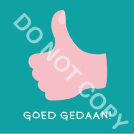 GOED GEDAAN! (Act.)