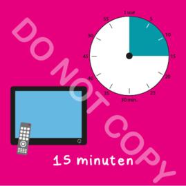 TV kijken 15 min (BT) - R