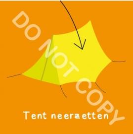 Tent neerzetten (K)
