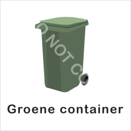 BASIC - Groene container