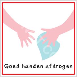 Stap 8. Goed handen afdrogen - HR
